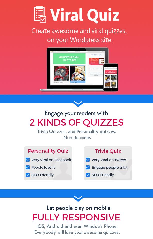 WP Viral Quiz Presentation WordPress Viral Quiz Plugin – BuzzFeed Quiz Builder Nulled Free Download part1